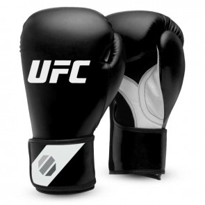 UFC Training (Kick) Boxhandschuhe Schwarz / Weiß
