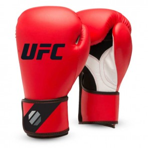 UFC Training (Kick) Boxhandschuhe Rot / Schwarz 8oz