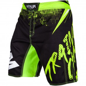 VEN-3367-116 Venum MMA Short Training Camp Zwart/Lime
