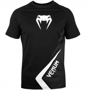 Venum T-Shirt Contender 4.0 Zwart/Grijs/Wit Medium