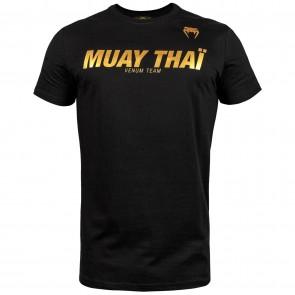 Venum T-Shirt Muay Thai VT Zwart/Goud