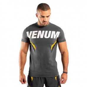 Venum T-Shirt One-FC Impact Grijs/Geel