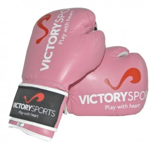 Victory Sports Victorian❠(Kick)Boxhandschuhe Ladies Pink