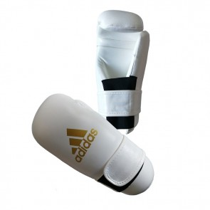 adidas Semi Contact Handschoenen Wit/Goud